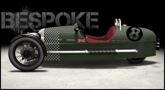 morgan 3 wheeler ventes jay leno superdry edition vid o blog automobile. Black Bedroom Furniture Sets. Home Design Ideas