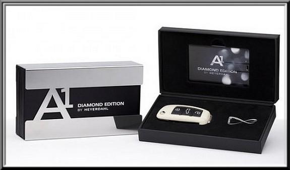 audi a1 diamond edition les a1 sont ternelles vid o blog automobile. Black Bedroom Furniture Sets. Home Design Ideas