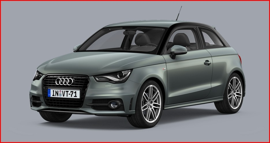 audi a1 bient t une version pour concurrencer la mini sd blog automobile. Black Bedroom Furniture Sets. Home Design Ideas