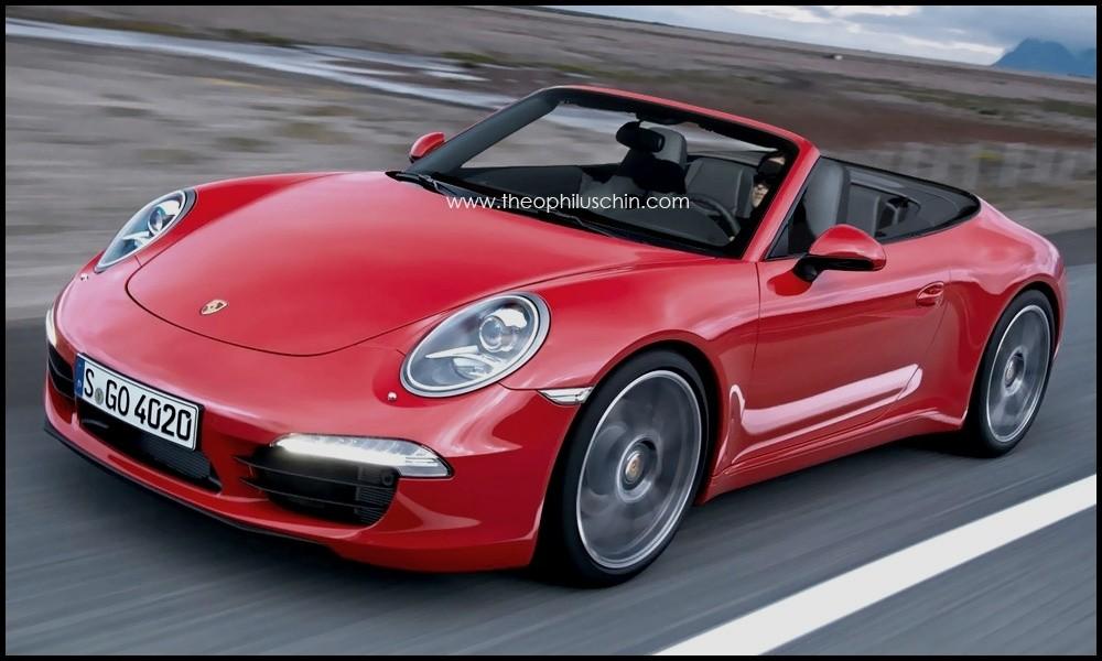 porsche 911 dans la famille 991 je demande le cabriolet blog automobile. Black Bedroom Furniture Sets. Home Design Ideas