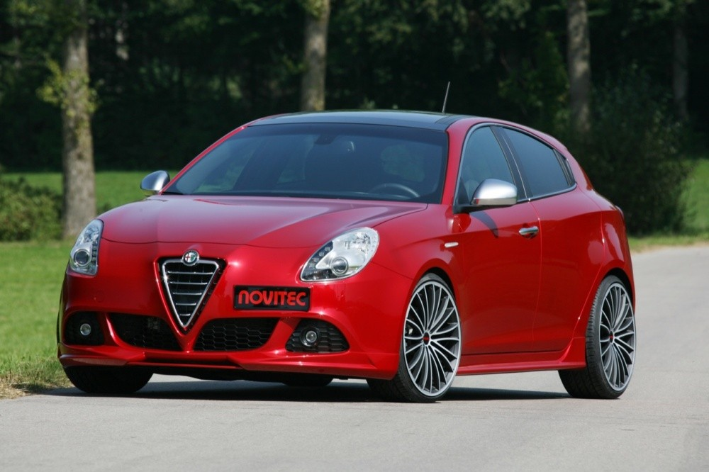alfa romeo giulietta by novitec sportliches herz blog automobile. Black Bedroom Furniture Sets. Home Design Ideas