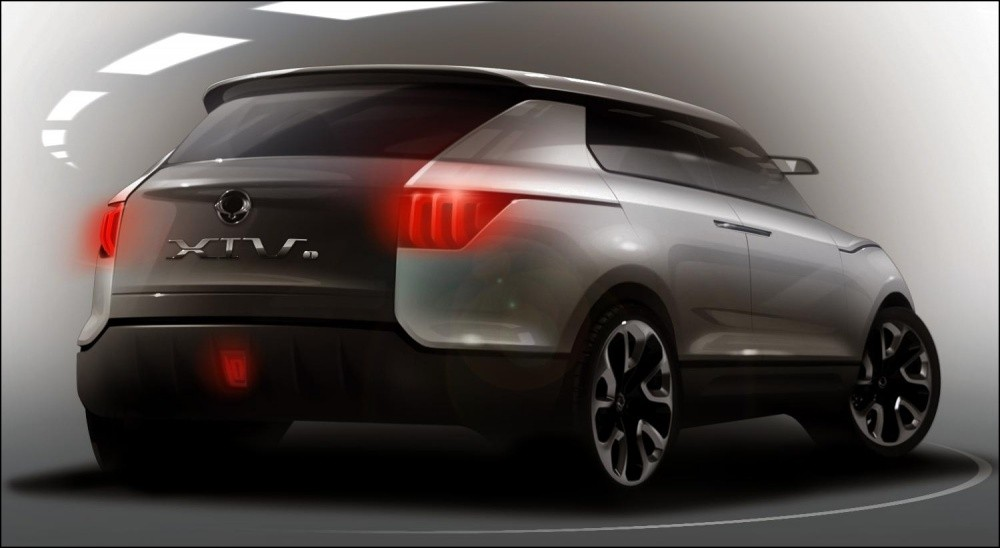 ssangyong xiv 1 concept de plus beaux dessins blog automobile. Black Bedroom Furniture Sets. Home Design Ideas