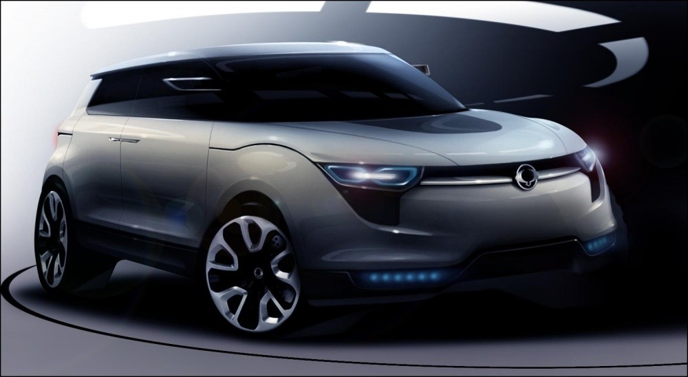ssangyong xiv 1 concept de plus beaux dessins blog automobile. Black Bedroom Furniture Sets. Home Design Ideas