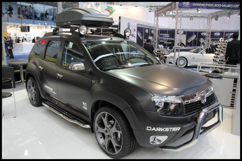 dacia duster darkster by elia a d faut de nouveaut blog automobile. Black Bedroom Furniture Sets. Home Design Ideas