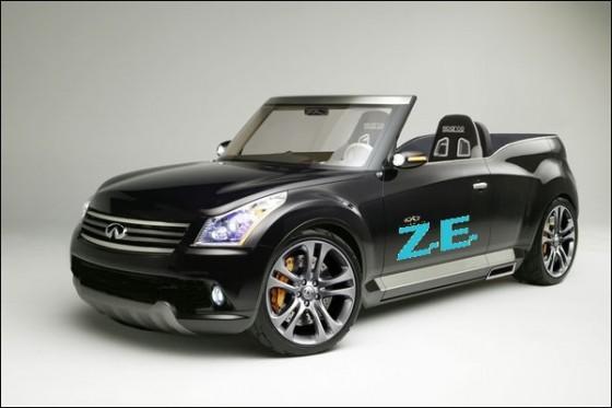 infiniti une berline et un roadster lectriques dans les cartons blog automobile. Black Bedroom Furniture Sets. Home Design Ideas