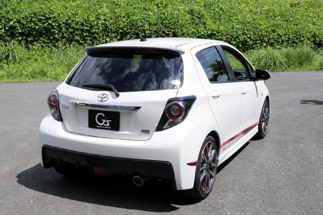 toyota la yaris japonaise en tenue de sport blog automobile. Black Bedroom Furniture Sets. Home Design Ideas