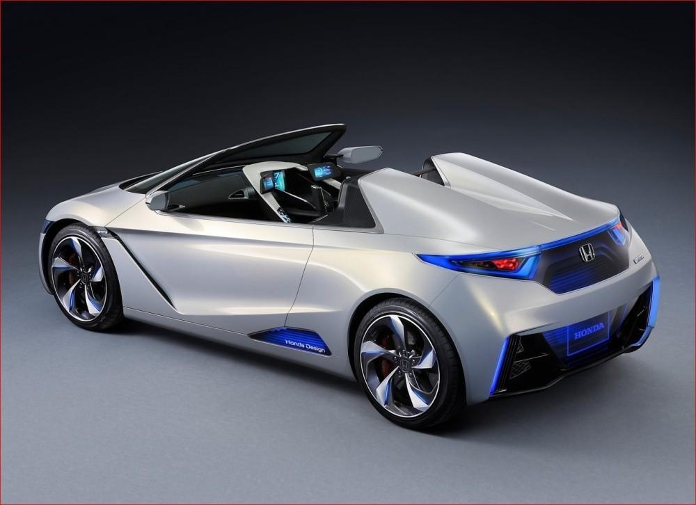 honda ev ster concept le roadster lectrique selon honda blog automobile. Black Bedroom Furniture Sets. Home Design Ideas