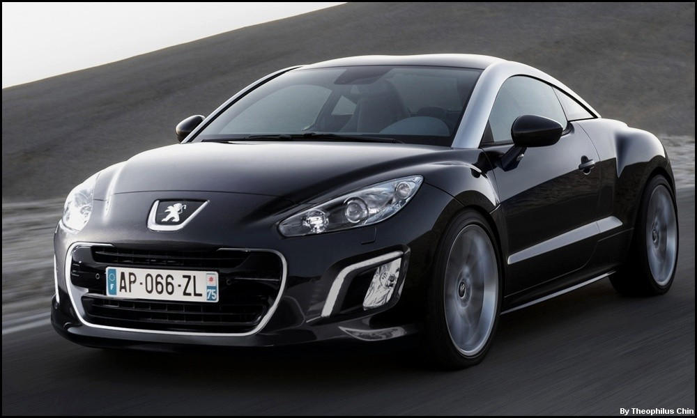 peugeot rcz 2012 restyling et puissance au programme blog automobile. Black Bedroom Furniture Sets. Home Design Ideas