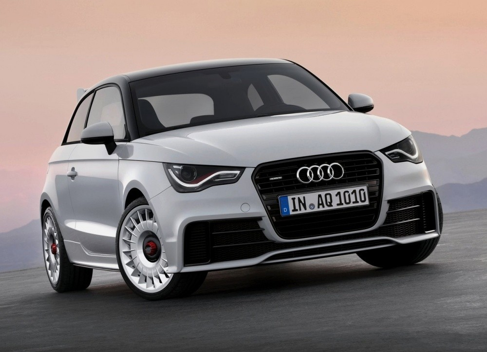 audi a1 quattro limited edition la quattro des villes blog automobile. Black Bedroom Furniture Sets. Home Design Ideas