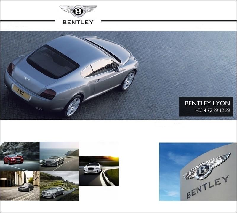 des bentley pour les lyonnais blog automobile. Black Bedroom Furniture Sets. Home Design Ideas
