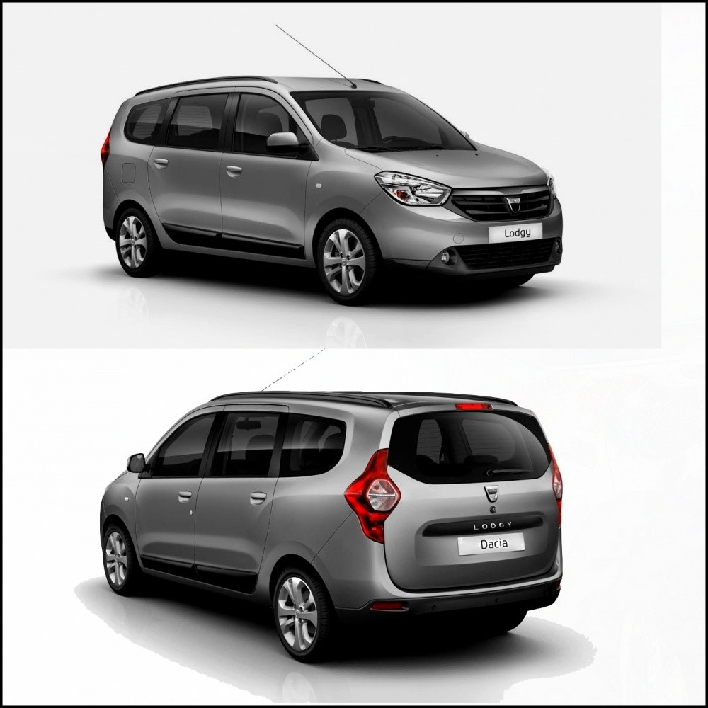 dacia lodgy le voici sur la route vid o blog automobile. Black Bedroom Furniture Sets. Home Design Ideas