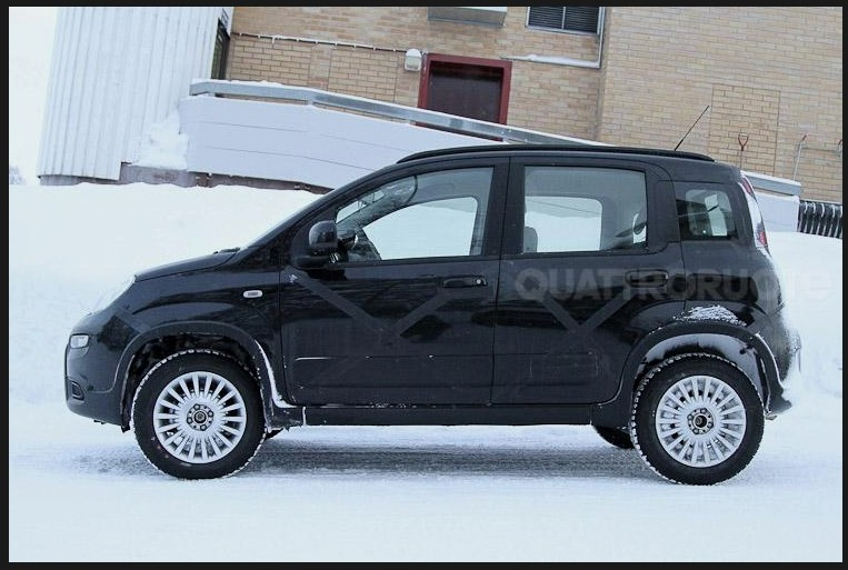 fiat panda 4x4 2012 premi res images enneig es blog automobile. Black Bedroom Furniture Sets. Home Design Ideas