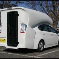 toyota prius camper le premier camping car 4 places hybride au profil particulier blog. Black Bedroom Furniture Sets. Home Design Ideas