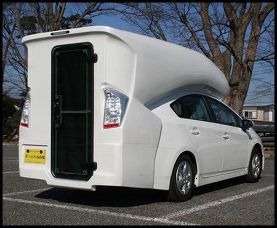 Toyota Prius Camper Le Premier Camping Car 4 Places