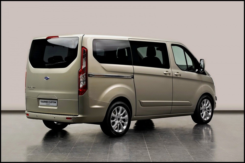ford tourneo custom concept il annonce la prochaine g n ration de transit blog automobile. Black Bedroom Furniture Sets. Home Design Ideas
