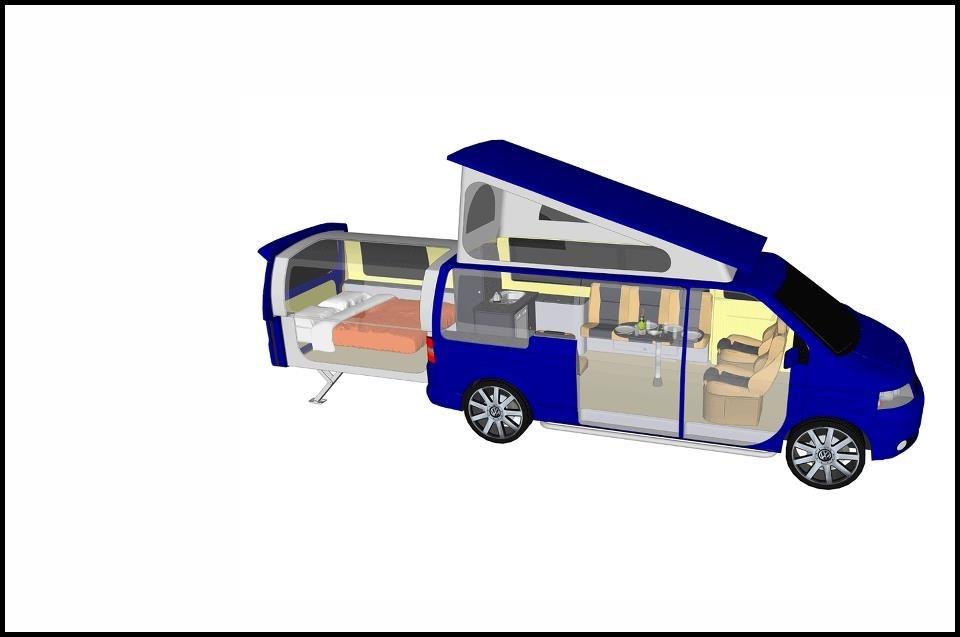 Volkswagen T5 Doubleback Le Couteau Suisse Des Camping