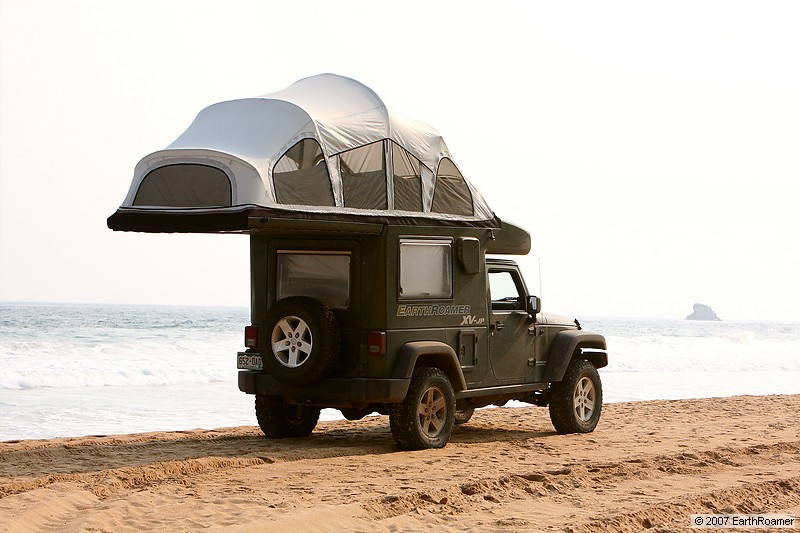 EarthRoamer XV-JP : La version camping car de la Jeep ...