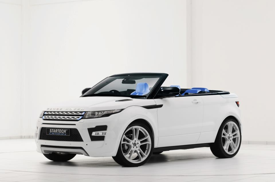 range rover evoque cabriolet by startech blog automobile. Black Bedroom Furniture Sets. Home Design Ideas