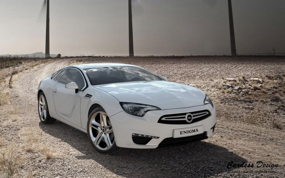 Opel Enigma by David Cardoso : Un successeur au coupé ...