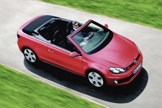 volkswagen golf gti cabriolet elle sera l avant le beau. Black Bedroom Furniture Sets. Home Design Ideas