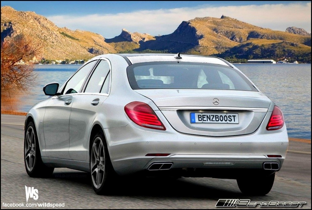 Mercedes benz classe s 2013 by wildspeed tr s plausible for 2013 mercedes benz s class