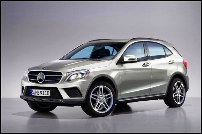mercedes benz gla 2014 premier aper u du futur crossover compact stuttgartois blog automobile. Black Bedroom Furniture Sets. Home Design Ideas