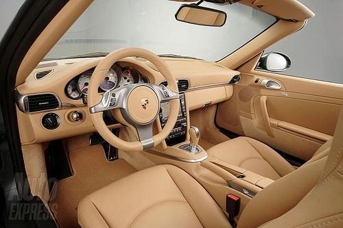 Porsche 911 2009 - Intérieur.jpg