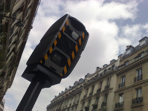 Premier radar sécuritaire à Paris