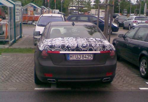 Arrière de la BMW Série 7 F01