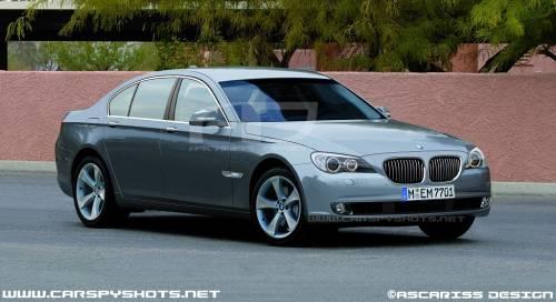 BMW Série 7 F01 - Rendu