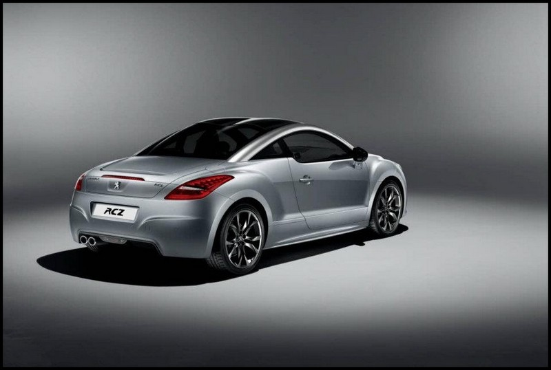 peugeot rcz onyx pour faire un peu de buzz autour du coup peugeot blog automobile. Black Bedroom Furniture Sets. Home Design Ideas