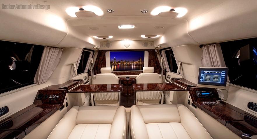 Cadillac escalade esv by beckerautomotivedesign luxe for Calme interieur