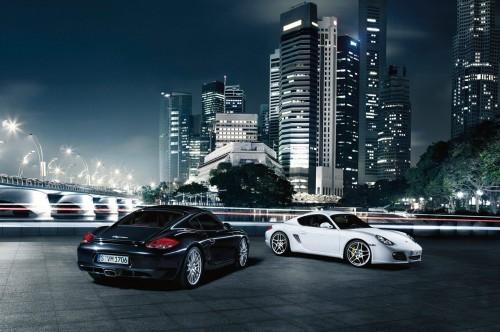 Porsche Cayman et Boxter 2010