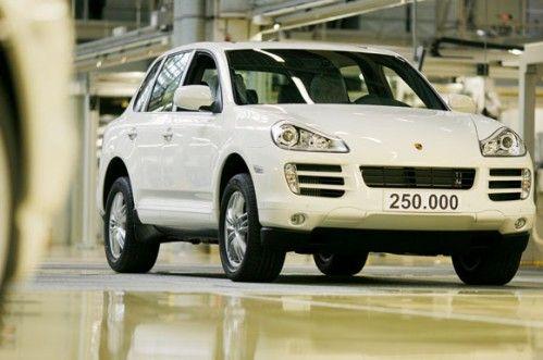 La Porsche numéro 250 000