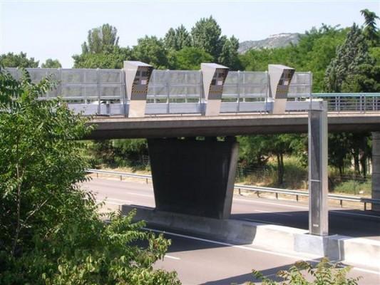 Autouroute à Bourg-lès-Valence dans le sens Marseille-Lyon