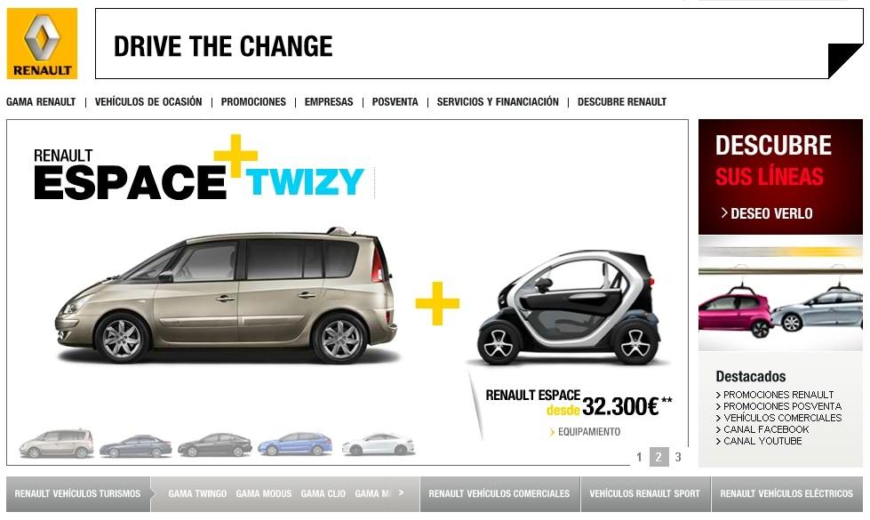 espagne pour une grande renault achet e une twizy 45 offerte blog automobile. Black Bedroom Furniture Sets. Home Design Ideas