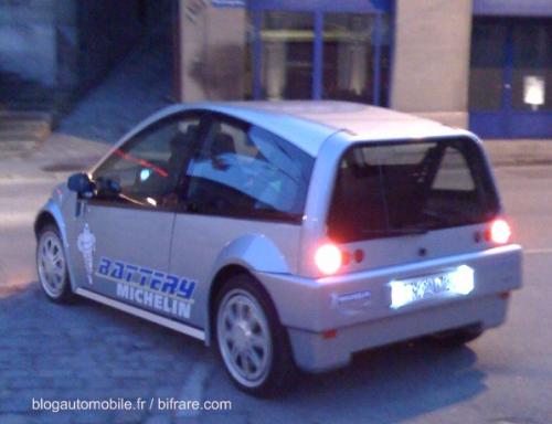 Michelin Battery Car