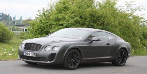 Bentley Continental Supersports (spyshot)