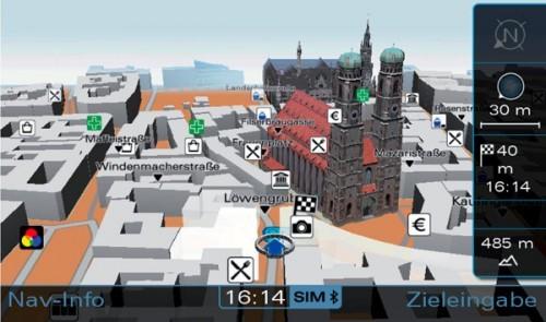 Audi MMI - 3D
