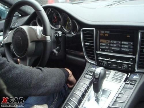 Intérieur Porsche Panamera