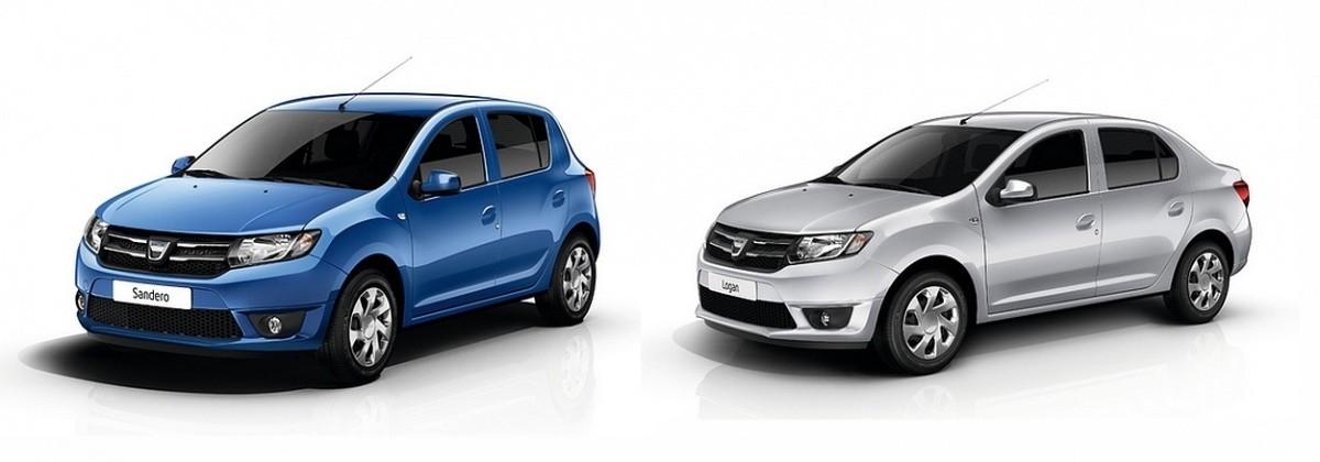 Dacia sandero et logan 2013