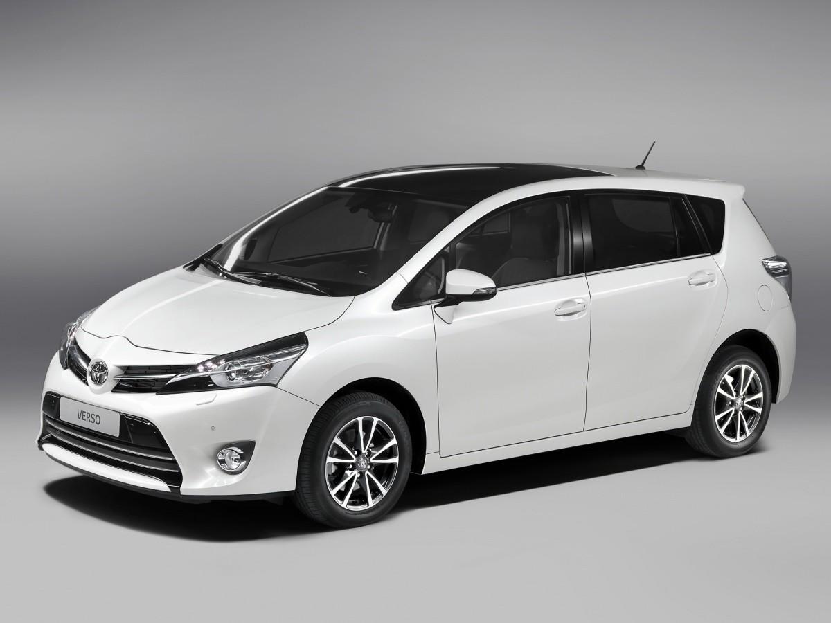 Toyota Verso 2013 Harmonisation De La Gamme Blog
