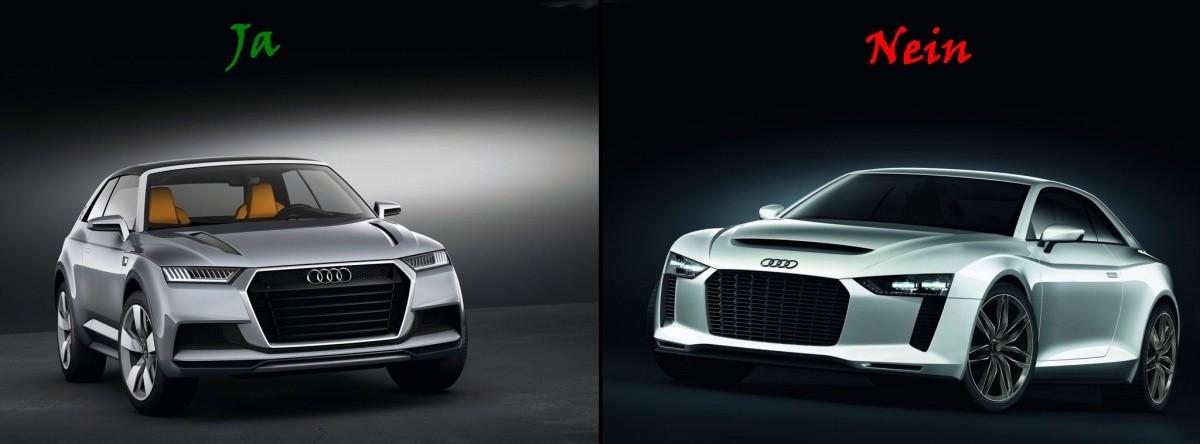 Audi Crosslane Coupé et Quattro Sport Concept