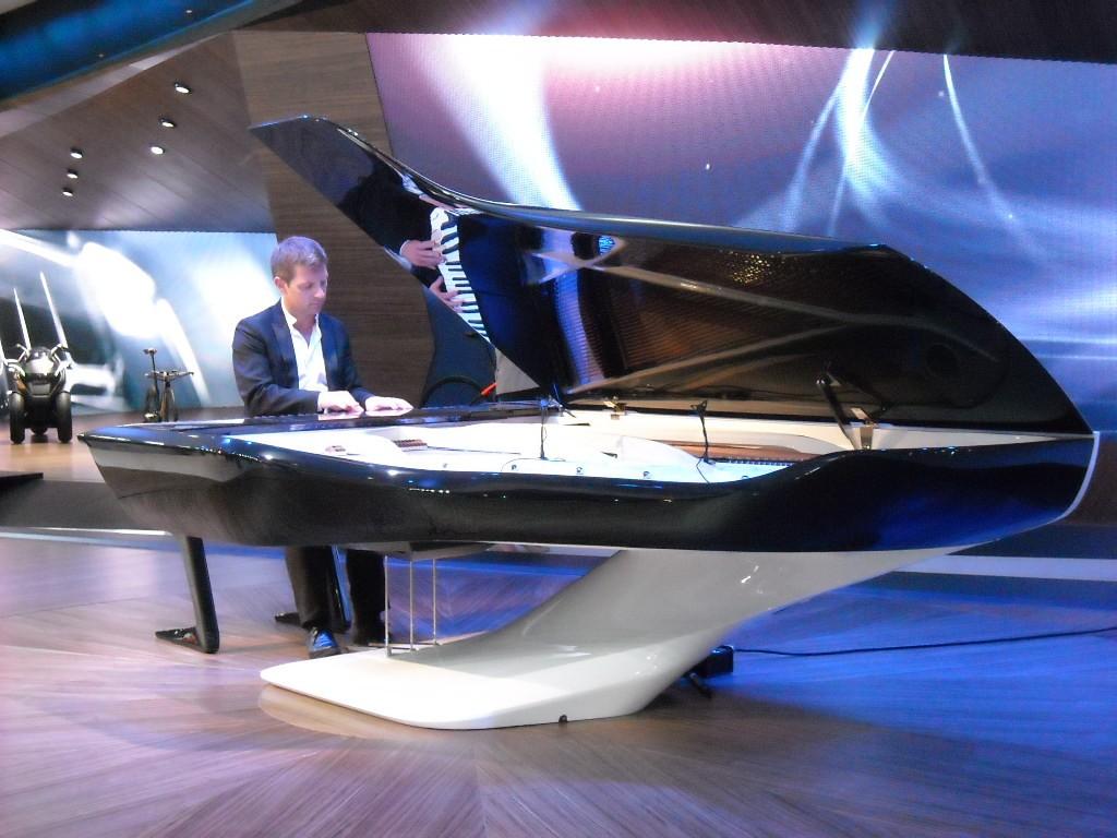 Piano Pleyel - Peugeot Design Lab au Mondial 2012