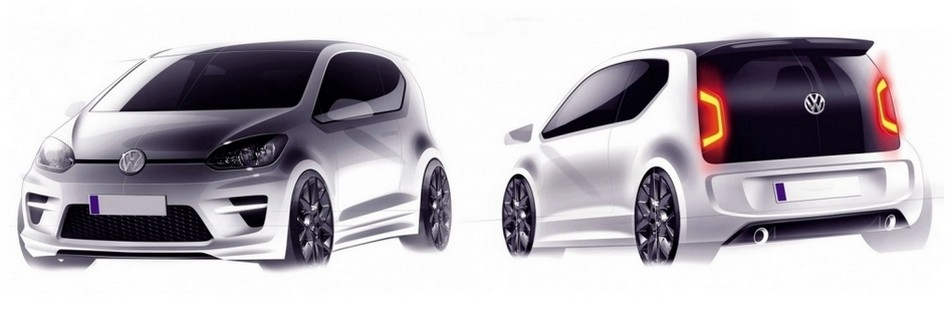 volkswagen up la version gt en approche blog automobile. Black Bedroom Furniture Sets. Home Design Ideas