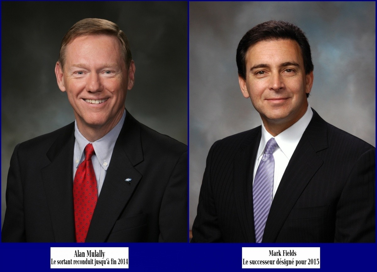 Alan Mulally & Mark Fields -Ford-