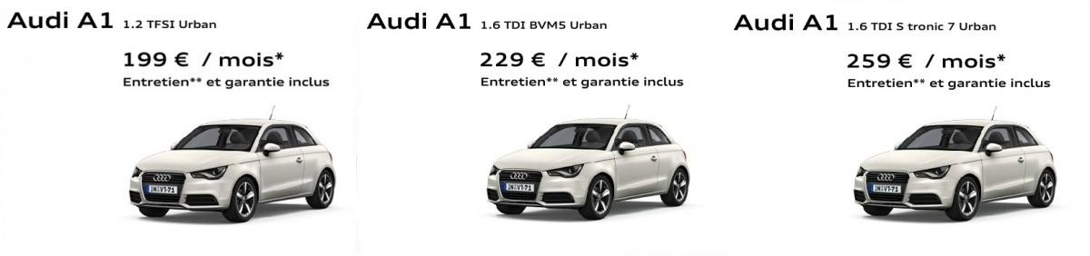 Audi A1 urban
