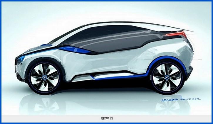bmw un coup i4 concept au salon de los angeles blog automobile. Black Bedroom Furniture Sets. Home Design Ideas