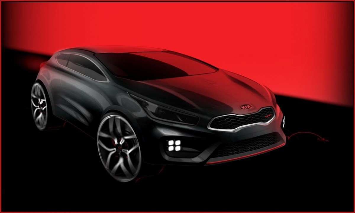 Kia-pro_ceed-GT-2013/2014 sktech