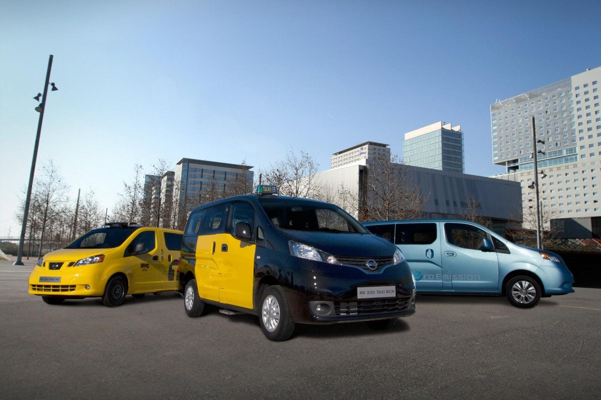 nissan nv200 le taxi mondial blog automobile. Black Bedroom Furniture Sets. Home Design Ideas